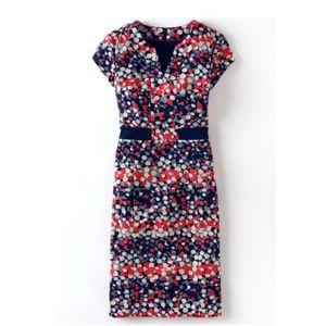 Boden, Notch Neck Dress, 10L